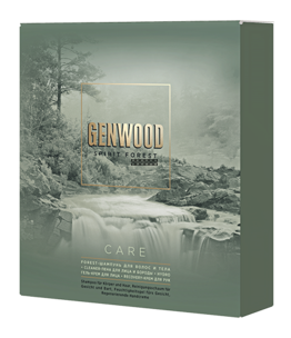 Набор GENWOOD care (шампунь, пена для лица и бороды, гель-крем для лица, крем для рук)