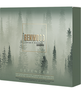 Набор GENWOOD DEFENDER (шампунь 250 мл, пена для лица и бороды 150 мл, гель-крем для лица 50 м