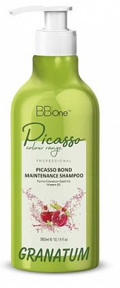 ШАМПУНЬ PICASSO гранатовый Granatum blond maintenance, 300 МЛ