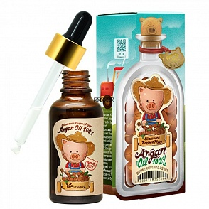 Elizavecca Аргановое масло для лица, тела и волос Farmer Piggy Argan Oil 100%	30мл